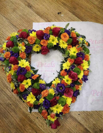 Floral Tribute - Heart