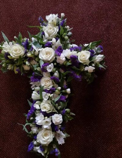 Floral Tribute - Cross